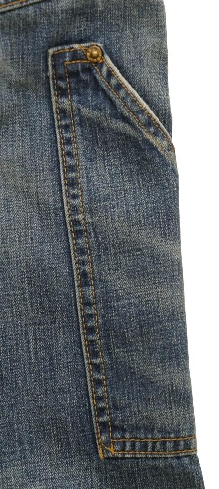 (ダブルアールエル) RRL 日本製デニム地 Cooperton バックルバック ストレート フィット セルビッジ ジーンズ メンズ Novelty Denim