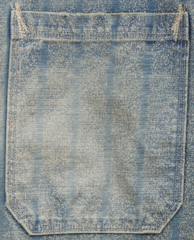 (ダブルアールエル) RRL 日本製生地 Ladlow インディゴ ストライプ ド ツイル ジャケット 本藍染めメンズ