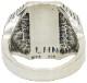 LHN Jewelry(エルエイチエヌ ジュエリー) 米国製 ハンドメイド シルバー x ラピス カルペディエム リング シルバー Carpe Diem Ring Silver Lapis