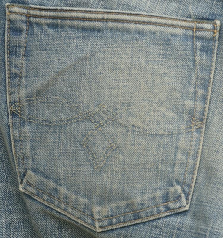(ダブルアールエル) RRL Stallings ローストレート ジーンズ デニム 日本製デニム地 メンズ Low Straight Selvedge Jean