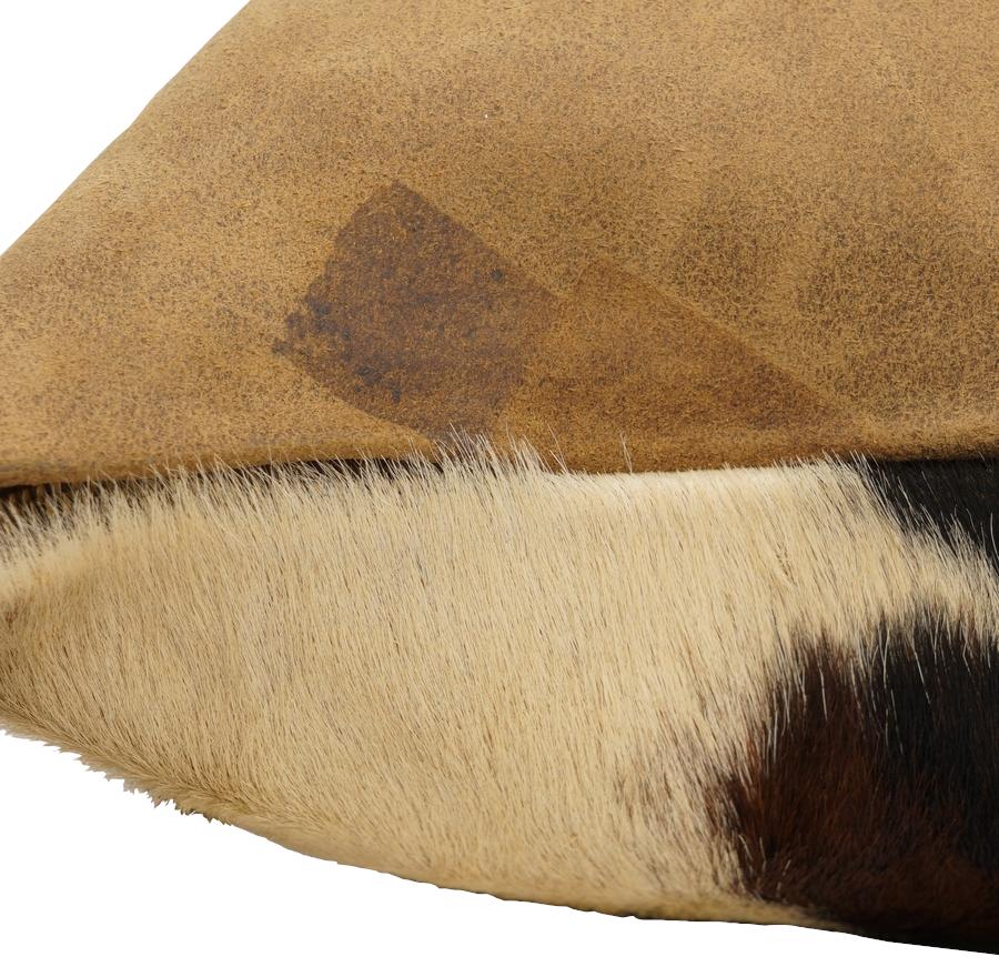 (ダブルアールエル) RRL 世界限定60個 リミテッドエディション イタリアンレザー ハラコ クッション No.2 Limited Edition Pillow