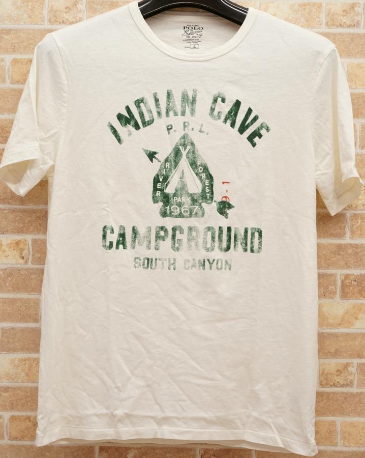 (ラルフローレン) Ralph Lauren ヴィンテージ加工 アロー Tシャツ XL