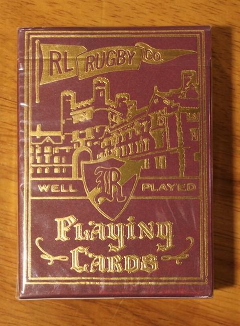 RUGBY / ラルフローレン ラグビー 「PLAYING CARDS」 トランプ 城 エンジ