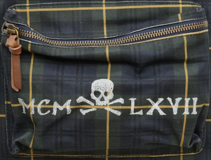 (ラルフローレン) Ralph Lauren ワッペン & ステンシルプリント リュックサック バックパック メンズ ユニセックス