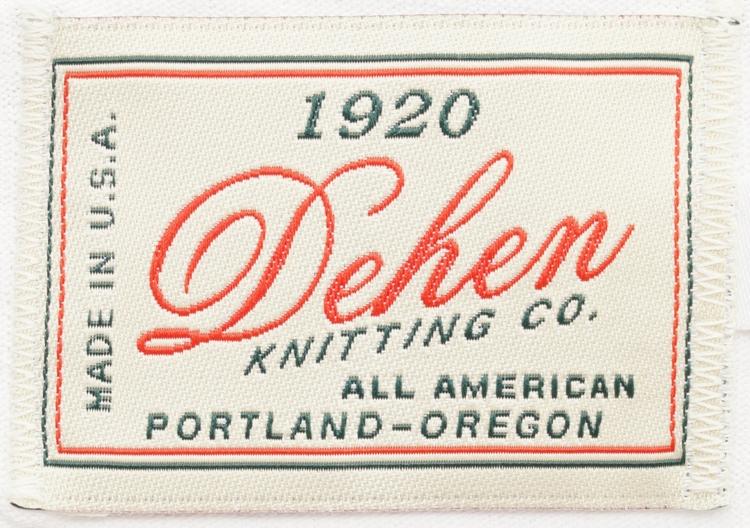 Dehen 1920(デーヘン) アメリカ製 ヘビー デューティー Tシャツ ホワイト メンズ Heavy Duty Tee White