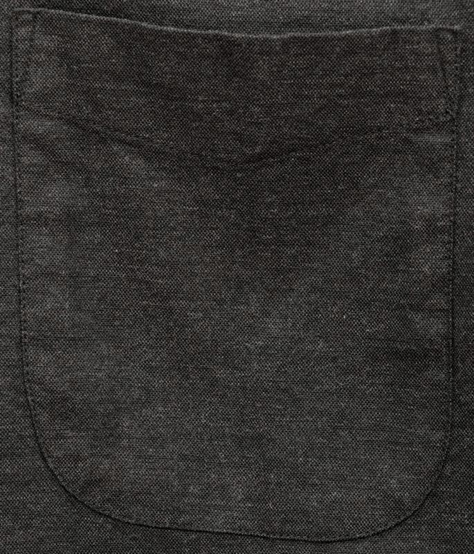 FAHERTY BRAND (ファリティ ブランド) オックスフォード ボタンダウン シャツ ブラック ストレッチ メンズ Stretch Oxford Shirt Washed Black