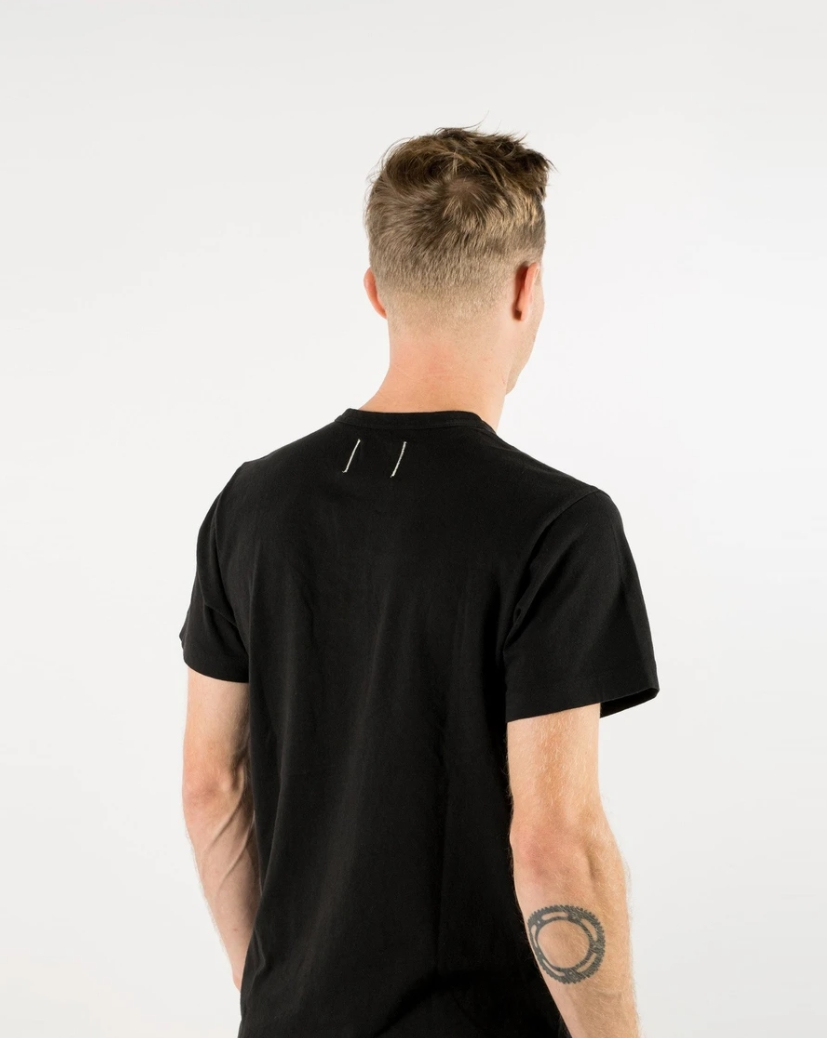 Dehen 1920(デーヘン) アメリカ製 ヘビー デューティー Tシャツ ブラック メンズ Heavy Duty Tee Black