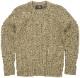 (ダブルアールエル) RRL ドニゴール ウール アラン編み クルーネック セーター グリーン ニット メンズ Donegal Wool Crewneck Sweater