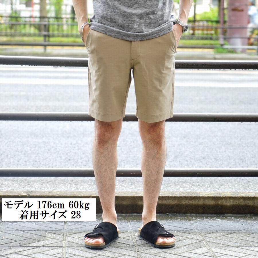 FAHERTY BRAND (ファリティ ブランド) All Day ショーツ リサイクル素材使用 カーキ メンズ Shorts Khaki