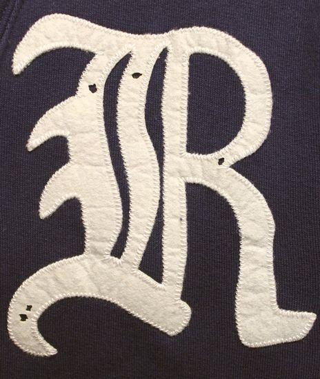 RUGBY / ラルフローレン ラグビー Rワッペン ショールカラー スウェット カーディガン ネイビー  M