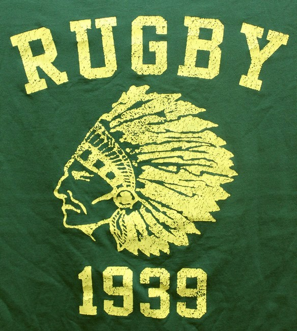 RUGBY / ラルフローレン インディアン プリント ヴィンテージ Tシャツ XL