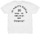 BLKSMTH (ブラックスミス) アメリカ製 バックプリント ブルックリン Tシャツ ホワイト メンズ