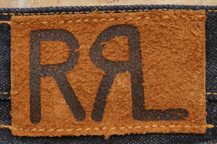 (ダブルアールエル) RRL 米国製 ローストレート ワンウォッシュ ジーンズ メンズ Low Straight Once-Washed Jean