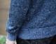 FAHERTY BRAND (ファリティ ブランド) Dual Knit クルーネック スウェット トレーナー オーガニックコットン使用 霜降りネイビー メンズ