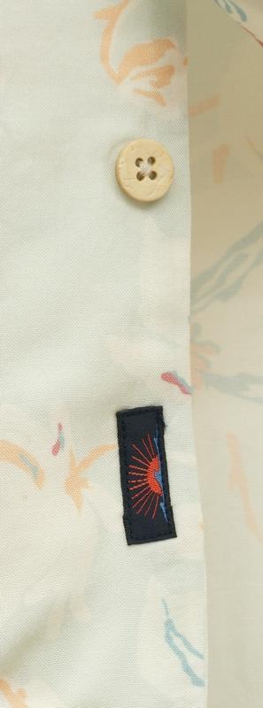 FAHERTY BRAND (ファリティ ブランド) Mint Floral 花柄 ハワイアン シャツ アロハ レーヨン 半袖 メンズ Kona Camp Shirt