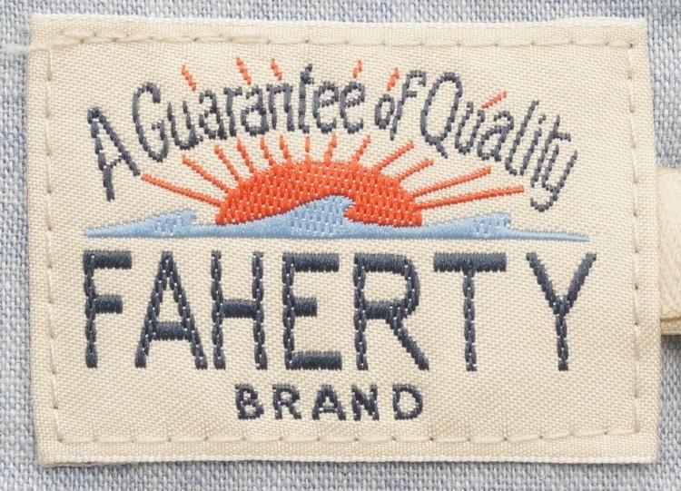 FAHERTY BRAND (ファリティ ブランド) 半袖 ポロシャツ 霜降りグレー メンズ Short Sleeve Heather Polo Charcoal