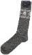 (ラルフローレン) Ralph Lauren ドクロ柄 カシミアブレンド ソックス スカル 靴下 グレー プレゼント メンズ Nordic pattern Wool Blend Socks