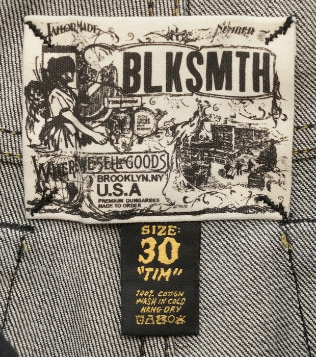BLKSMTH (ブラックスミス) 米国製 Slim Tim リジッド ジーンズ コーンミルズ デニム メンズ