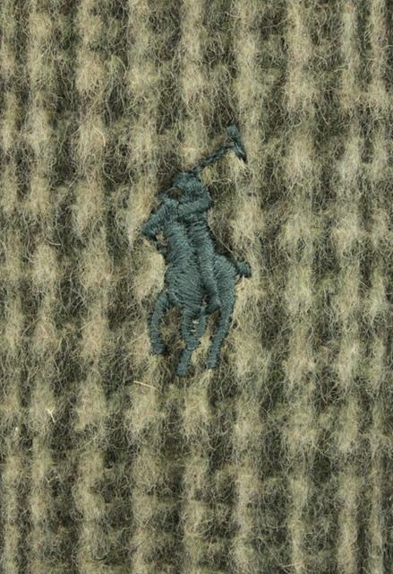 (ラルフローレン) Ralph Lauren Glen プラッド ダブルフェイスド スカーフ イタリア製 マフラー ヘザーグレンプラッド Glen plaid double-faced scarf