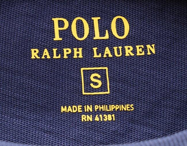 (ラルフローレン) Ralph Lauren ブランド ロゴ & アンカー プリント Tシャツ ネイビー