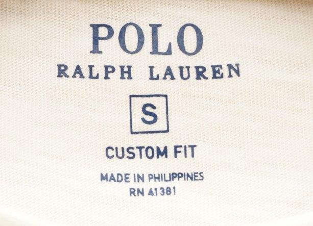 (ラルフローレン) Ralph Lauren 星条旗 & イーグル ロゴ Tシャツ S