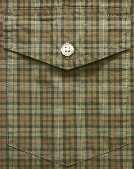 RUGBY / ラルフローレン ラグビー フラップポケット ボタンダウン チェック シャツ グリーン