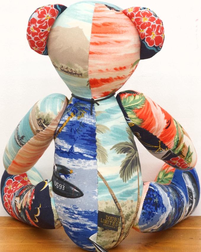 (ダブルアールエル) RRL 世界限定103個 リミテッドエディション ハワイアン パッチワーク ベア No.63 Limited Edition Bear