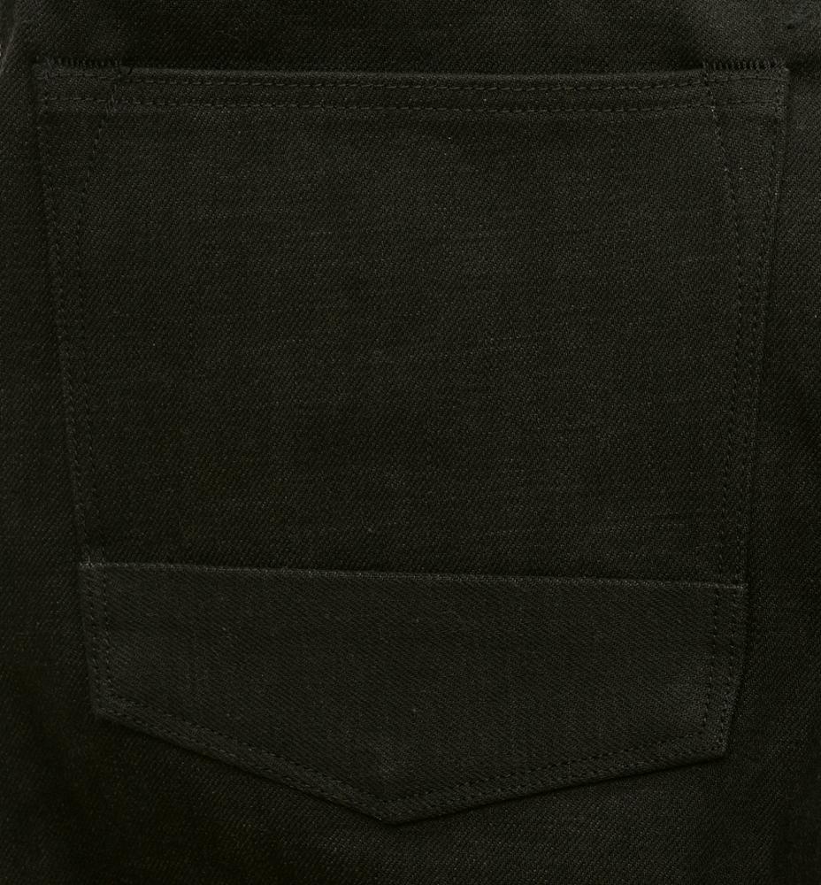 BLKSMTH (ブラックスミス) 米国製 Slim Tim リジッド ブラック ジーンズ コーンミルズ デニム メンズ Black