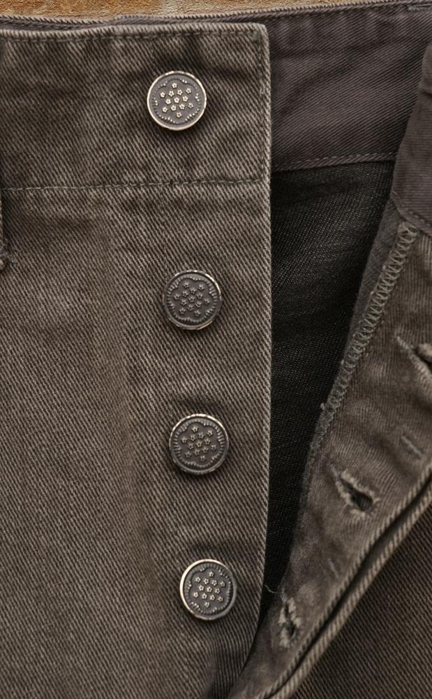 (ダブルアールエル) RRL 日本製デニム地 ユーティリティ ジーンズ チャコールグレー メンズ Utility Jean