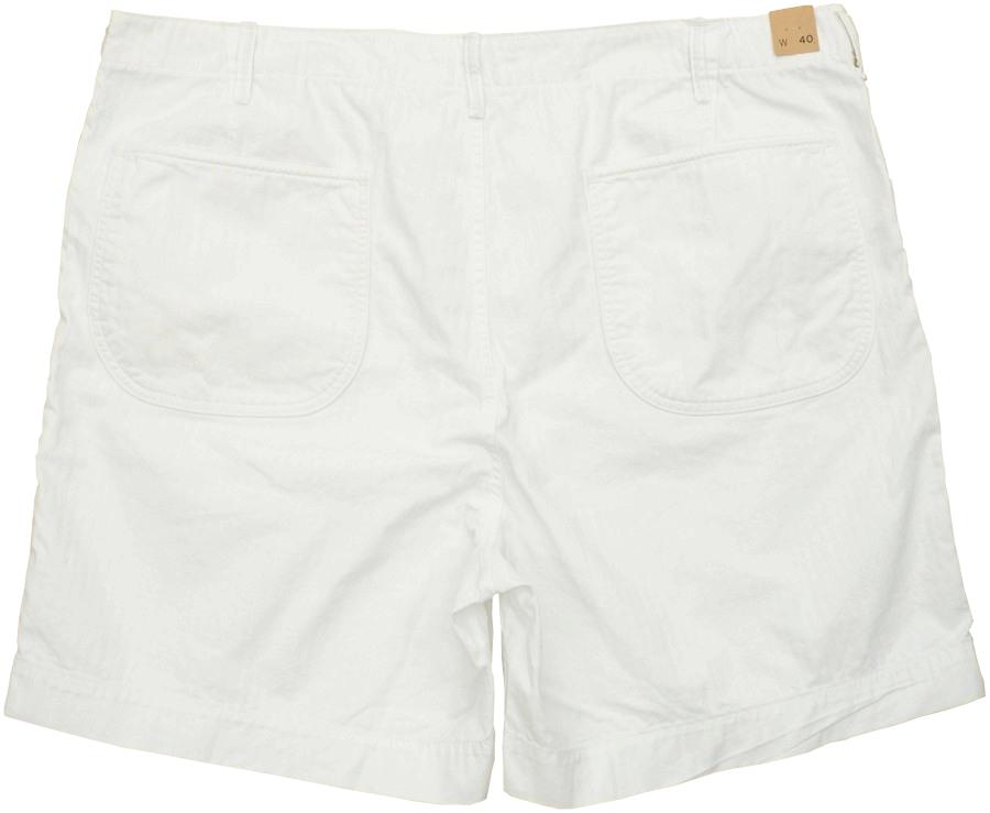 (ダブルアールエル) RRL コットン ユーティリティ ショートパンツ ホワイト メンズ Cotton Utility Short White