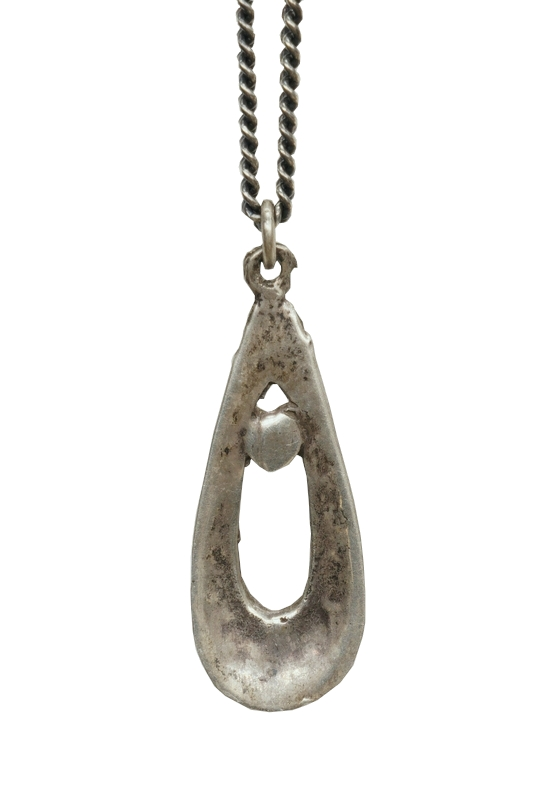 【 一点物 希少 】 ヴィンテージ ナバホ ターコイズ レインドロップ ネックレス アンティーク メンズ Vintage Navajo Raindrop Necklace