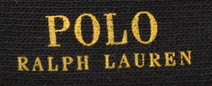 (ラルフローレン) Ralph Lauren ドット ソックス 靴下 ブラック メンズ プレゼント ユニセックス Dot pattern Socks