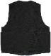 Dehen 1920(デーヘン) ウール ユーティリティ ベスト ブラック メンズ Knit Utility Vest Black