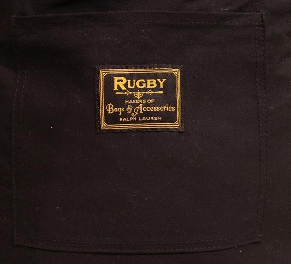 RUGBY / ラルフローレン ラグビー タータンチェック スカル トート ドクロ刺繍 ブラックウォッチ