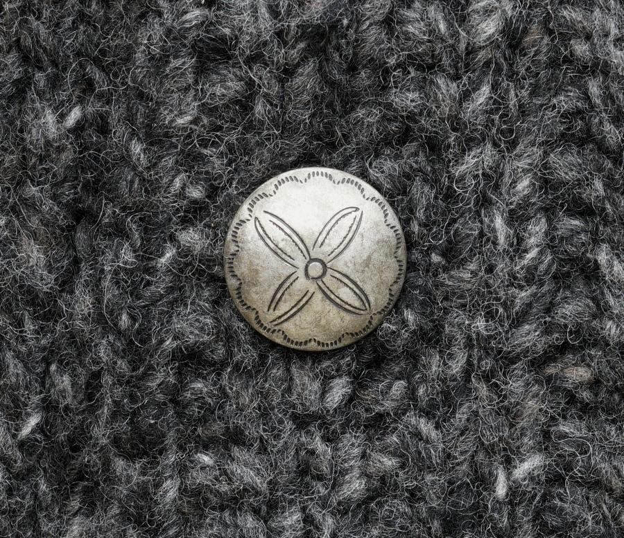 (ダブルアールエル) RRL ハンドニット ウール シルク カーディガン 手編み チャコール メンズ Hand Knit Cardigan