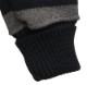Dehen 1920(デーヘン) 1/4 ジップ モーターサイクル セーター ワッペン 刺繍 限定モデル ブラック × グレー メンズ アメリカ製 Motorcycle Sweater