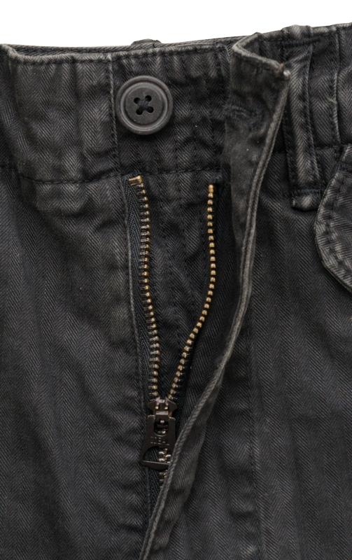 (ダブルアールエル) RRL リップストップ カーゴ ショートパンツ ショーツ ブラック メンズ