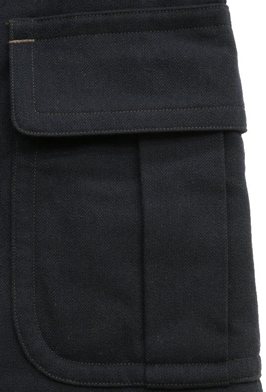 (ダブルアールエル) RRL 日本製生地 Lawrence サージ ピーコート ダークネイビー メンズ Peacoat