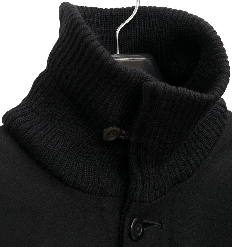 Dehen 1920(デーヘン) メルトンウール Stalwart 2.0 ハンティング ジャケット コート ブラック メンズ アメリカ製 Black
