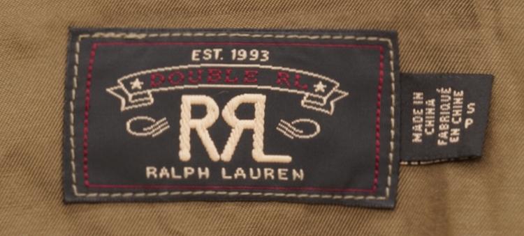 (ダブルアールエル) RRL ウール ブレンド Ramsey ネイティブ柄 ピーコート メンズ Patterned Peacoat