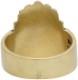LHN Jewelry(エルエイチエヌジュエリー) ハンドメイド Born To Loose スカル リング アメリカ製 ブラス メンズ レディース ユニセックス Brass Ring