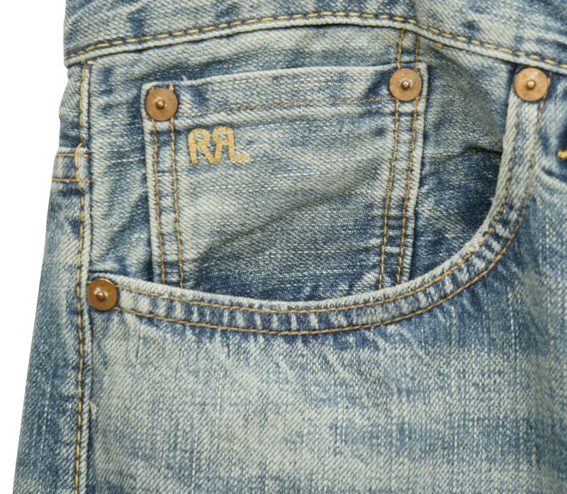 (ダブルアールエル) RRL ヴィンテージ 5 ポケット セルビッジ ジーンズ デニム 日本製デニム地 メンズ Vintage 5 Pocket Selvedge Jean