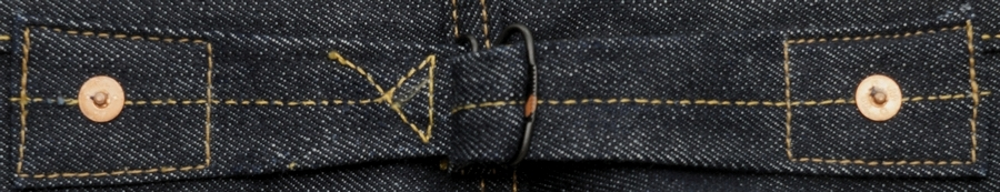 (ダブルアールエル) RRL リミテッドエディション ストレート ジーンズ バックルバック 日本製デニム使用 リジッド Limited Edition Straight Jean Rigid