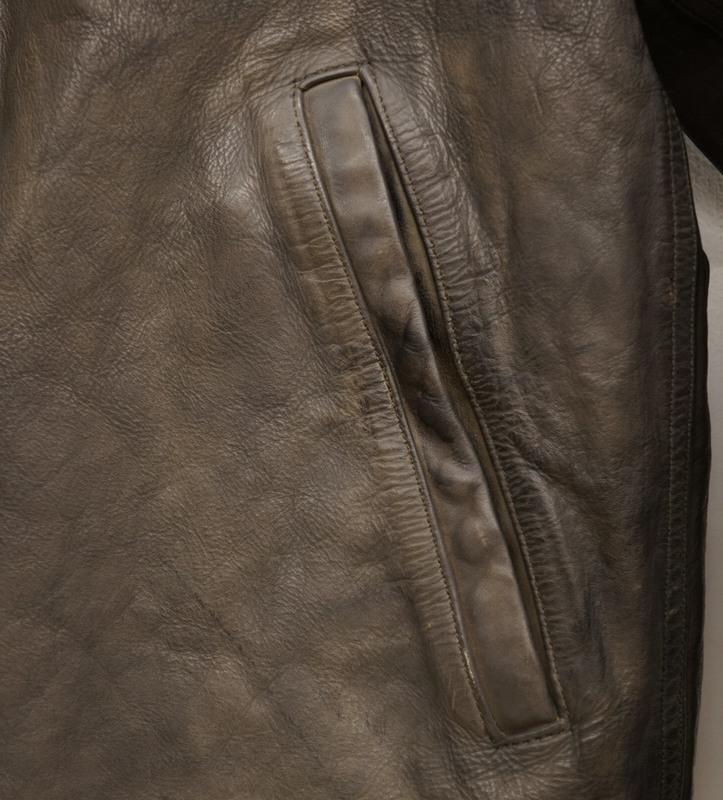 【委託販売品】 (ダブルアールエル) RRL シェアリング レザー トリム デッキジャケット メンズ Shearling-Trim Leather Jacket
