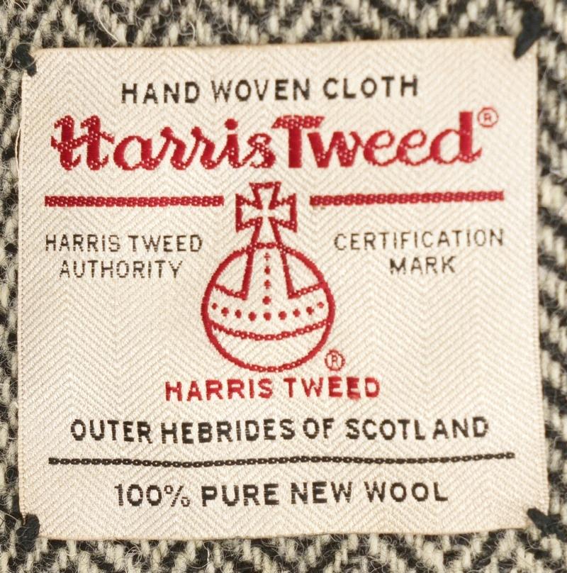 (ダブルアールエル) RRL ハリスツイード & スウェード クッション レザー Harris Tweed & Suede Pillow