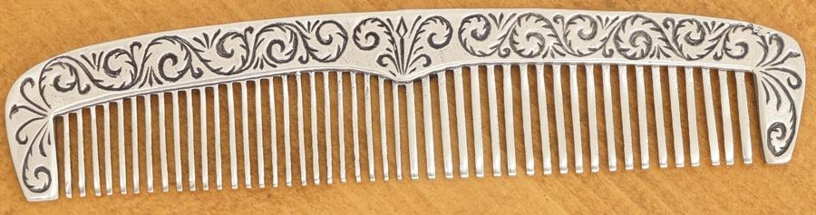 LHN Jewelry(エルエイチエヌ ジュエリー) ハンドメイド コーム くし ニッケル Odd Fellows Comb