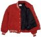Dehen 1920(デーヘン) 創業100周年限定モデル ニット クラブ ジャケット スタジャン ウール地使用 メンズ レッド アメリカ製 Limited Edition
