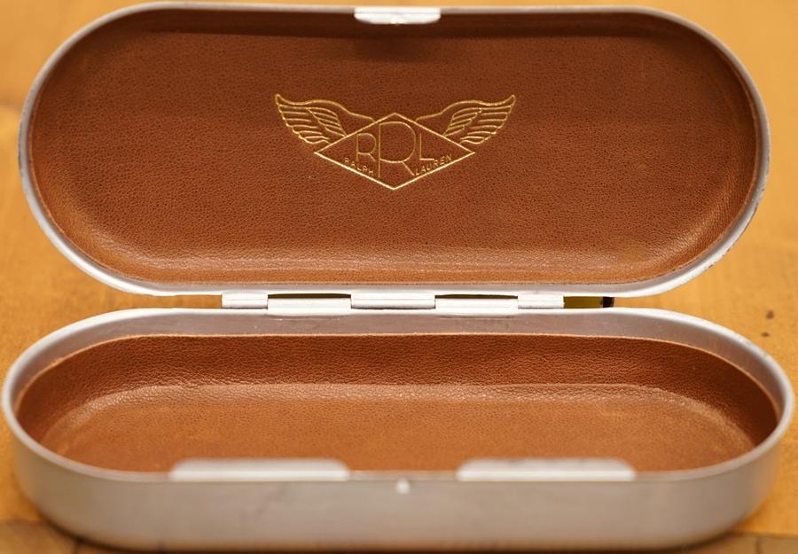 (ダブルアールエル) RRL メタル アイウェア ケース Metal Eyewear Case