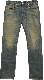 (ダブルアールエル) RRL 岡山製デニム使用 Santos3 Wash スリムフィット ジーンズ メンズ Slim Fit Selvedge Jean
