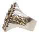 LHN Jewelry(エルエイチエヌ ジュエリー) アメリカ製 ハンドメイド フラガール スーベニア リング シルバー x 銅 x 真鍮 メンズ Hula Girl Souvenir ring